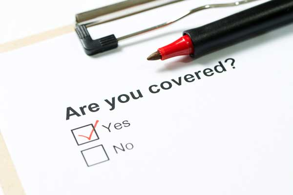 Clipboard questionnaire and pen - are you covered?